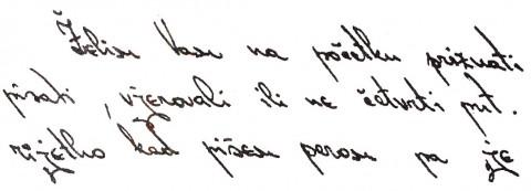 Obrnut rukopis zatvorenih osoba